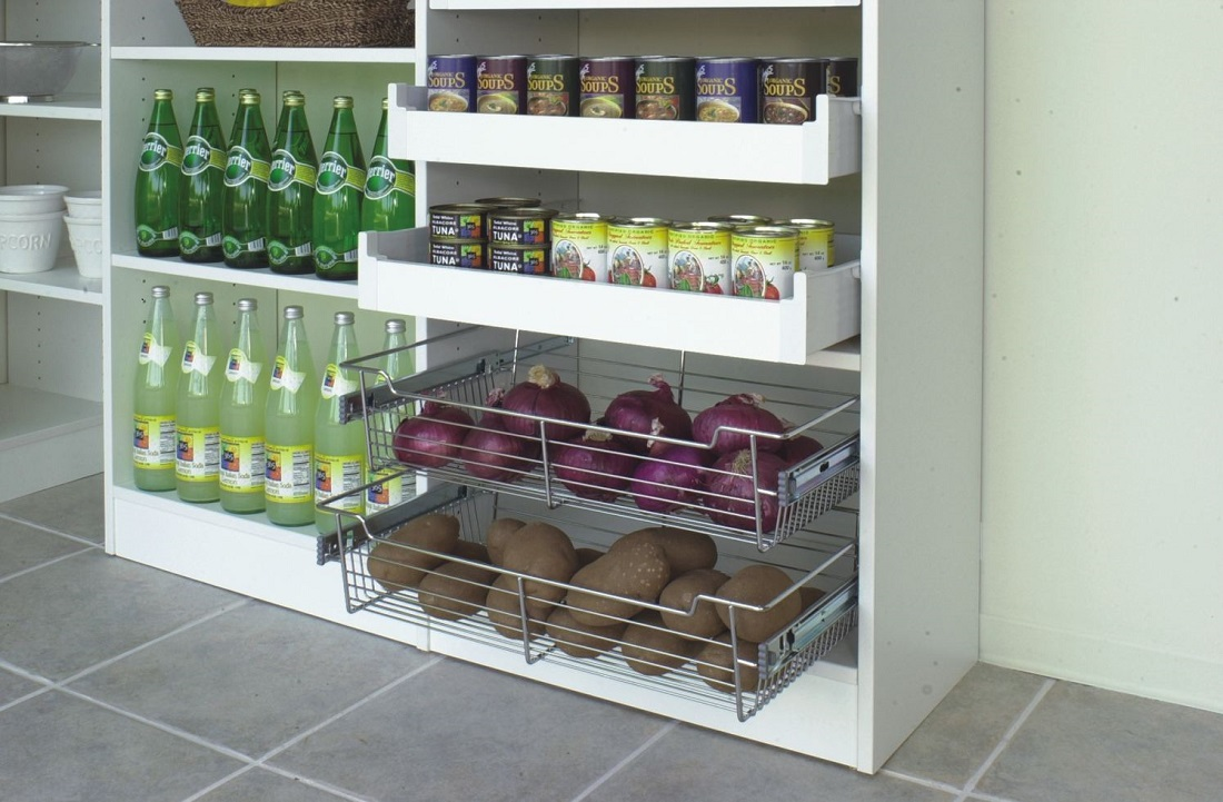 pantry closeup
