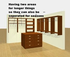 Custom Closet Organzier